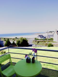 le balcon, vue mer
