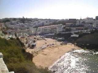Carvoeiro beach from Monte Carveiro hill
