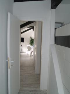 view trough bedroom 2