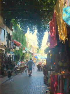 Fethiye old town for gift shopping practicing your haggling skills