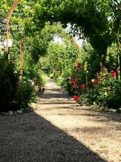 Back Garden entrance
