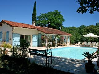 5 mins drive medieval town. Private Pool /gardens, Saint-Antonin Noble Val