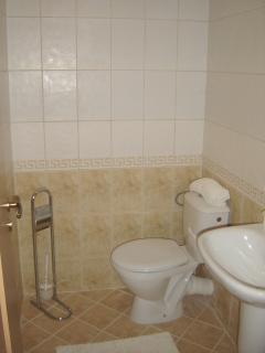 Separate WC & Basin