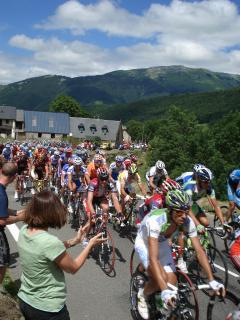 Le Tour de France passes by most years