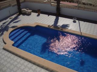 Private Pool, taken from roof top solarium