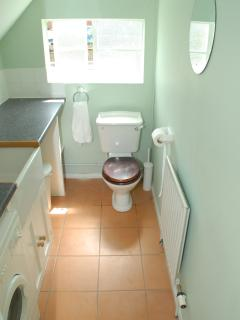Roomy downstairs utility with WC