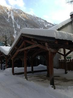 Chalet des Sapins in winter