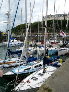 Portpatrick Harbour, Lifeboat Week