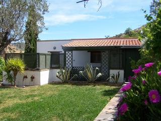 Detached cottage on 2 acre finca near village, Lubrin