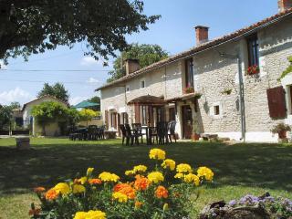 Tournesol, Arbre de Cerise, Linazay