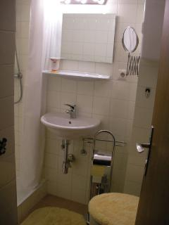 En suite with power shower