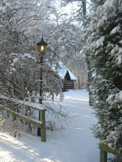 Burnbank Lodges - The perfect hideaway for two at any time of year.
