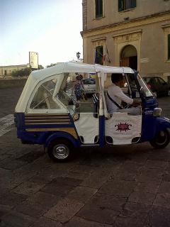 A novel way of visiting nearby Otranto!