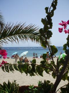 One of many sections of Mojacar beach - another view