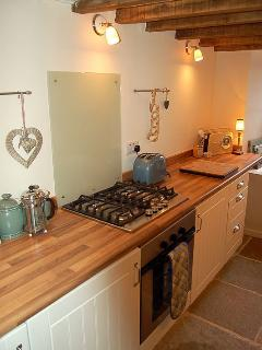 Well equipped & refurbished kitchen