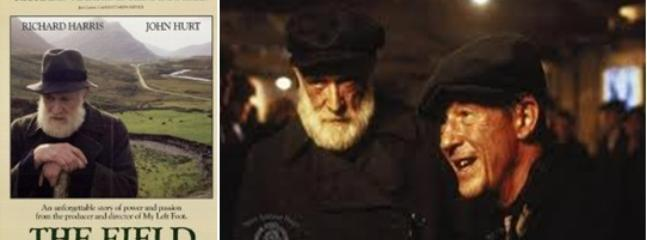 'The Feild' Actors Richard Harris and John Hurt in Gaynors Pub