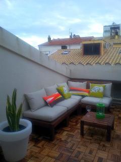 New terrace 2014