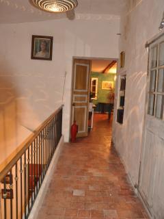 Doorway to the apartment
