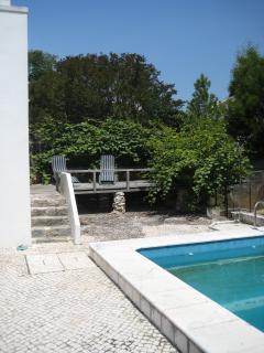 Deck near the pool