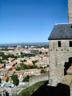 Historic Carcassonne is only 30 mins away