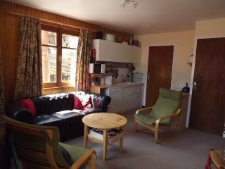 Sunny double aspect lounge/kitchen area