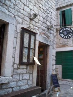 Antika's Restaurant in Stari Grad was setting of a full page photo in Conde Naste magazine