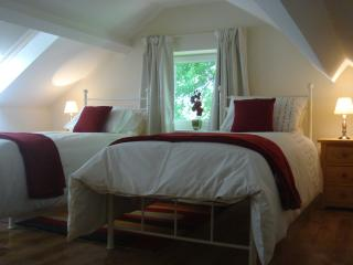 twin bedroom (upstairs)