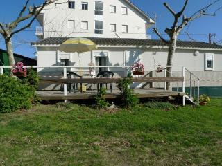 Casa HELENA - 1ª línea de playas - Terraza, Vilanova de Arousa