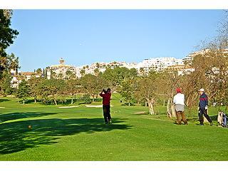 Views over golf course