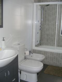Large Ensuite with Bath and Hyro Massage shower