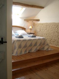 La Loge master bedroom..