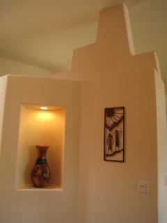 Art Nook in Foyer