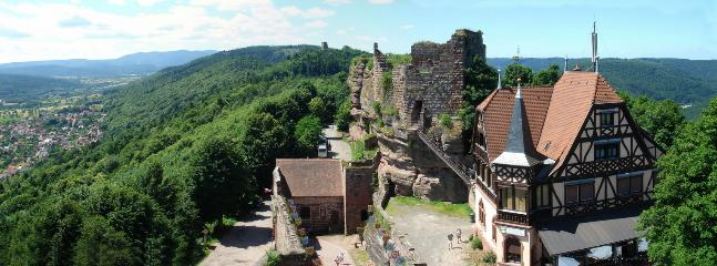 Le Château du Haut Barr à Saverne
