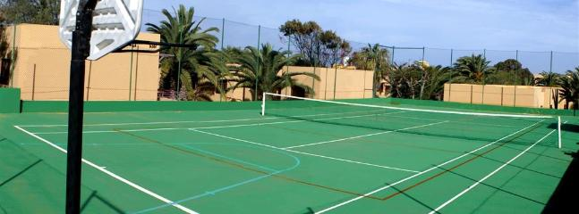 Tennis Court at Residencial Las Dunas