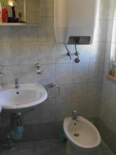 Shared bathroom with bidet