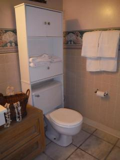 Bathroom and linens