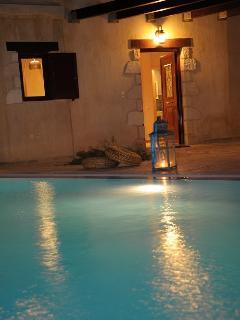 Villa Azzurra night