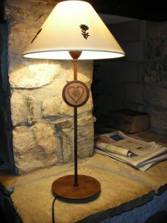 Nice lamp in the chalet