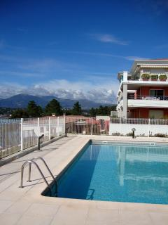 Terrific 1 Bedroom Flat with a Pool and Terrace, in Biot