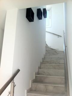 stairs to top floor living area