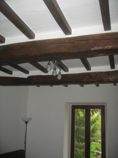 Another shot of the lounge ceiling beams