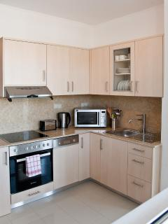 Apartment kitchen - modern and fully equipped