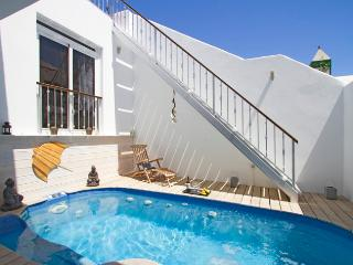 The Beach House solar heated private plunge pool