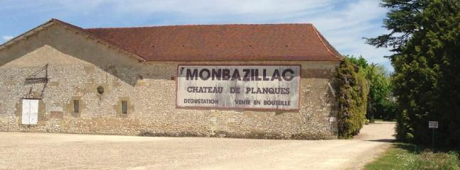 The famous Monbazillac vineyards are within five minutes' drive of the house