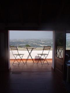 Varandah with view