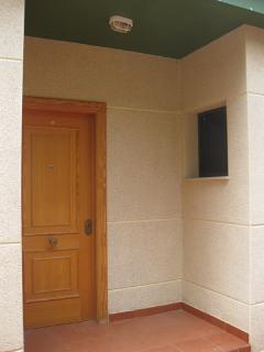Puerta de entrada al Bungalow