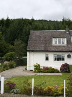 Lochside Cottage and garden