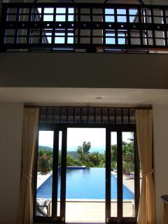 Hallway and Pool