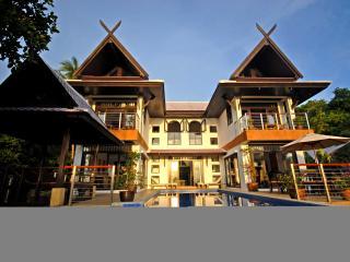 Villa Nirvana is set in the private hills above Bang Por beach stunning views