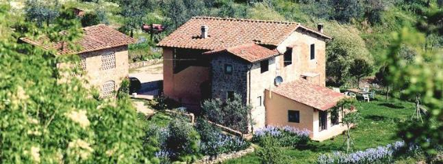 Aerial view of Podere Albereto